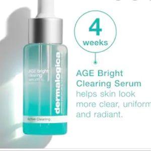 NWT Dermalogica age bright clearing serum